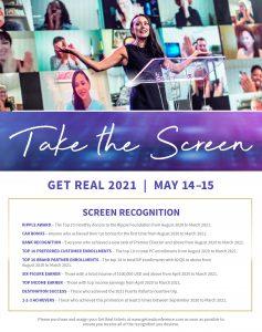 Take the Screen at Get Real 2021   May 14-15